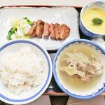 牛たん焼 麦めし とろろ テールスープ(牛舌の店 多津よし (たつよし))