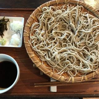ざるそば(あるがまま舎の蕎麦&カフェ )