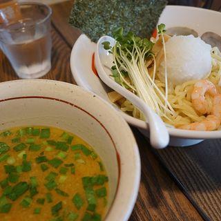 海鮮さっぱり塩辛つけ麺(麺 みの作 本店)