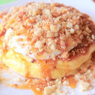 塩キャラメルパンケーキ