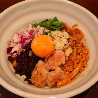 台湾もつ混ぜそば(らーめん つけ麺 かんじん堂 フコクフォレストスクエア店 )