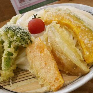 野菜天カレーつけ麺(うどん  an)