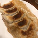 ラム肉入り焼き餃子