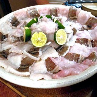 鱧すき鍋(讃岐うどん 蔵之介 (くらのすけ))