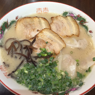 濃厚ワンタン麺(石田一龍 本店 (【旧店名】久留米ラーメン 一龍))