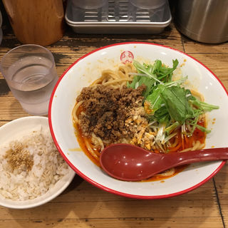 汁なし担々麺(三田製麺所 三田本店 )