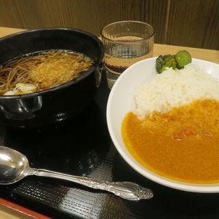 朝カレー定食(よもだそば 名古屋うまいもん通り広小路口店)