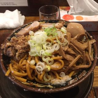 爆盛油脂麺(平太周 味庵 (ヒラタイシュウアジアン))