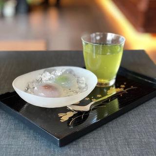 水まんじゅう(小豆、抹茶)