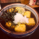 揚げ出し豆腐(ほろよい )