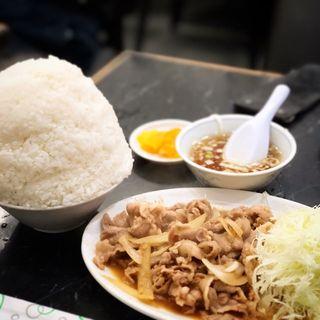 焼肉定食(中国料理 登龍 )