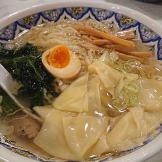 ワンタン麺(塩醤油)(中国ラーメン揚州商人 町田店 (チュウゴクラーメン・ヨウシュウショウニン))