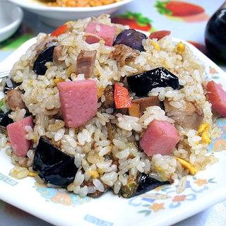 ナスバター炒飯(龍王 )
