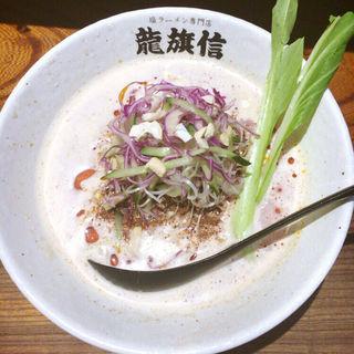限定  冷やし担々麺(龍旗信RIZE 大阪なんば店 (リュウキシンライズ))