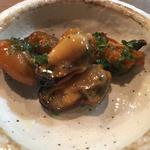 ムール貝のオイル漬け