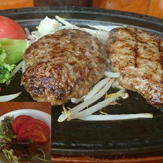 和牛&黒豚ハンバーグセット(120g)(くろべこ )