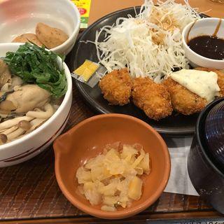 カキフライ和膳(牡蠣飯)