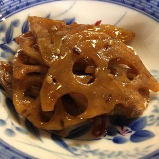 レンコンのきんぴら(割烹・小料理 輝石)