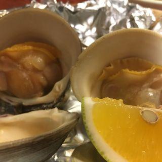 ホンビ貝の塩焼き(割烹・小料理 輝石)