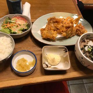 黒潮唐揚げ定食(木曽駒 守山店 (きそこま))