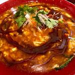 酸辣湯麺 辛さ+3(新潟 三宝亭 東京ラボ 中目黒店 (ニイガタ サンポウテイ トウキョウラボ))