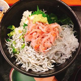 三色丼(海蔵 )