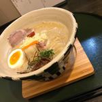 鶏白湯麺(ORiBE)