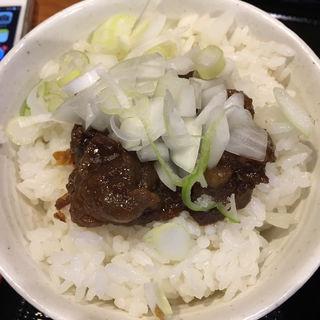 牛スジごはん(胡座 (あぐら))