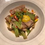 豚肉と野菜の蒸し