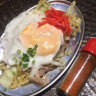 焼きラーメン(博多満月 八丁堀店 )