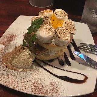 おいなごちゃんコーヒーパンケーキ(全国銘酒居酒屋)