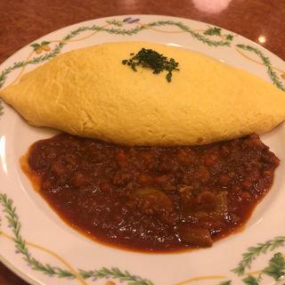 ミートソースオムライス(卵と私 栄店 )