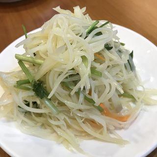ジャガイモの冷菜(羊香味坊)