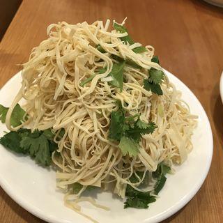 押し豆腐の冷菜(羊香味坊)