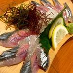 秋刀魚刺(旬味旬菜 大和)