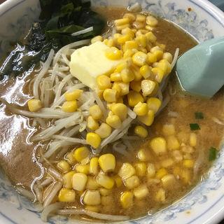 味噌バターコーンラーメン(くるまやラーメン 君津坂田 )
