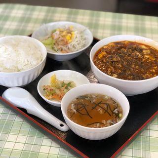 麻婆豆腐定食(中華厨房たな華 )