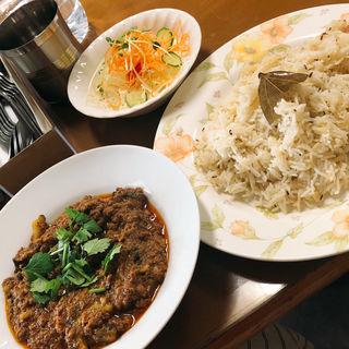 キーマカレー(ハラールフードマルハバ (HALLAL FOOD MARHABA))
