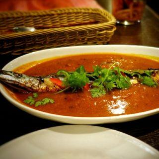 秋刀魚カレー(インド食堂  アンジュナ )