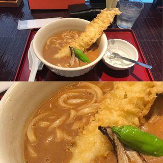 穴子天カレーうどん(古奈屋 丸の内オアゾ店 (こなや))