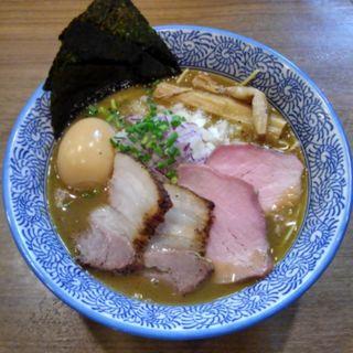 特製極上濃厚煮干し(煮干しつけ麺 宮元 (みやもと))