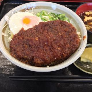 味噌カツ丼(内津峠パーキングエリア(上り線) スナックコーナー )