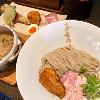 つけ麺brack 特製盛合わせ(麺者すぐれ)