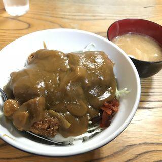河金丼(カツカレー)(河金 (かわきん))