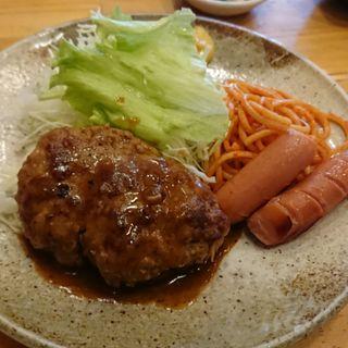ハンバーグ定食(丸幸洋食店 (マルコウヨウショクテン))