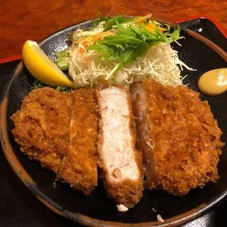 ジャンボとんかつ定食(とんかつ健 )