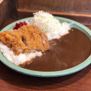 チキンカツカレー(大盛り)(ししとう )