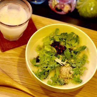 ピータン粥(テディアンドダディ )
