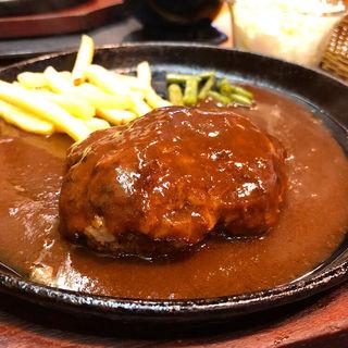 ハンバーグ(ビービー (lunch&okonomiyaki B.B))