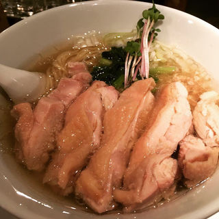 塩生姜ラーメン肉増し(塩生姜らー麺専門店 MANNISH (マニッシュ))